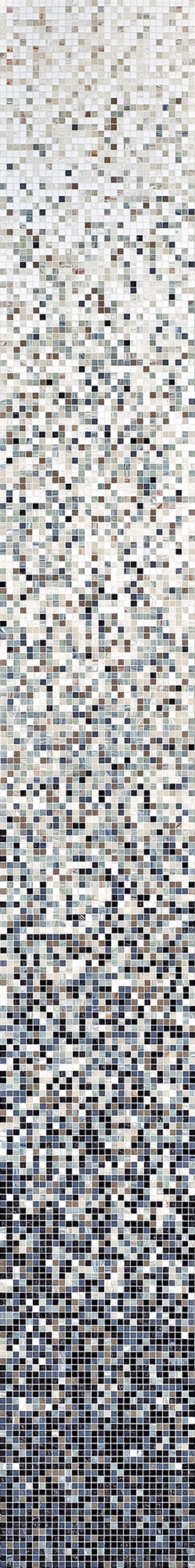 Bisazza Sfumature Miscele 1x1 cm Caprifoglio  Mosaico Bagno Cucina Doccia Pis...